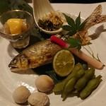 味季 和遊 - 鮎の塩焼き