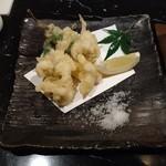 93393440 - タラ白子の天ぷら