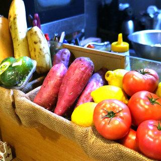 旬野菜と新鮮魚介が自慢です!