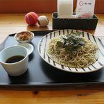 アシリ・和来 - 料理写真:ざるそば(700円)