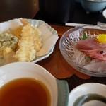 93406439 - とびしま膳(天ぷら・お造り)