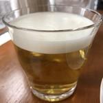 ラトリエ モトゾー - カモミールティ(ホット)540円 入れ立てで泡立ってます!とても香ります♪