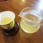 聞香 - 点心風ランチ(980円)水だしお茶