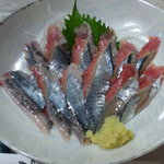 居酒屋 とんぼ - 秋刀魚の刺身1