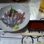 居酒屋 とんぼ - 秋刀魚の刺身2