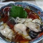 居酒屋 とんぼ - 厚岸の酢牡蠣