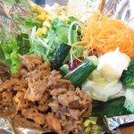 ツナミ コマザワトウキョウ - ビーフサラダ ¥1,100