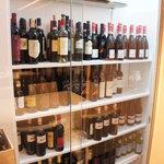ビオディナミコ - こちらがワインセラー♪