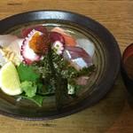 谷町 一味禅 - 海鮮丼(¥1150)