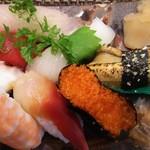 玄海鮨 - 竹にぎり  俯瞰(笑)