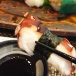 玄海鮨 - タコ  旨味たっぷり