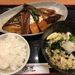 寿司の刻 漁匠 - 料理写真:煮魚定食(¥1、000)