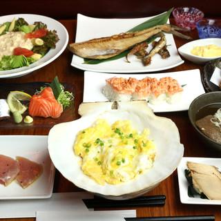 お得に堪能青森ランチ*十和田バラ焼き・新鮮魚介で午後も元気!