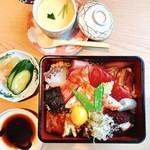 心斎橋 鮨 おか崎 - 上ちらし寿司‼︎