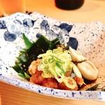 心斎橋 鮨 おか崎 - 牡蠣酢♡