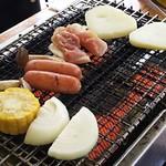 93415821 - 焼き野菜・鶏肉