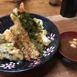 谷町 一味禅 - スペシャル天丼(¥1000)(ランチ限定)