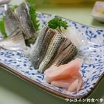 鯉とうなぎのまるます家 - コハダ酢700円
