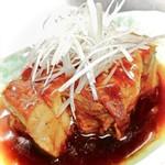 お料理 御厨 - 豚の角煮 トロトロ熱々