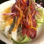 93419537 - 旬の魚菜サラダ