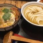 93419648 - カツ丼セット(¥1058)