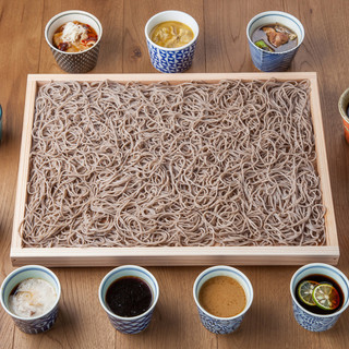 【四大名物】囲み蕎麦・自然薯料理・自然薯鍋・野菜巻き串