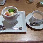ビストロヴァリエ - デザートとコーヒー