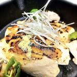 お料理 御厨 - 若鶏の柚子味噌焼 香り良し酒に合う
