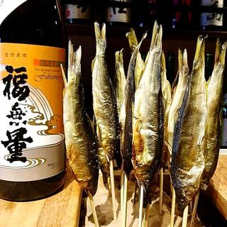 希少な日本酒×炉ばた焼きのペアリングをお愉しみください