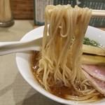 93425556 - 鴨らぁ麺の麺リフト