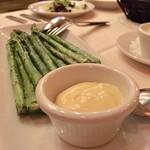 Ruth's Chris Steak House - GrilledAsparagus 15.00ドル