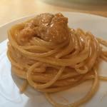 Arancino di Mare - たっぷり生ウニとクリームソースのスパゲッティ 37ドル(4,267円)