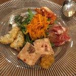 トラットリア シンチェリタ - 前菜盛り合わせ1,800円