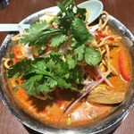 Asian Dining & Bar SAPANA - 「タイ風カレーラーメンセット」1,000円