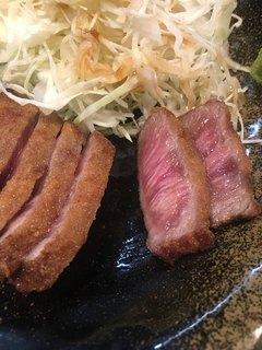 牛かつ冨田 -  牛かつ (´∀`)/
