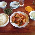 上海亭 - 酢豚でございます