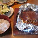 丹乃蔵 - 包み焼きハンバーグランチ!(2011,09/04)