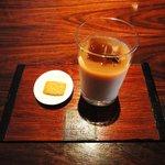 楽庵 - 料理写真:アイスプーアルミルクティー