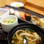 うまか粋亭 - 料理写真:ランチ楓(\900税抜き)