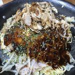 広島風お好み焼き ぐぁらく - 料理写真: