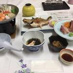 あきた白神温泉ホテル - ビジネスプラン夕食