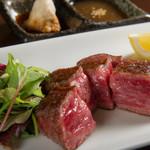 JAPANESE  DINING 無花果 - 料理写真:上富良野和牛A5ランク炭焼