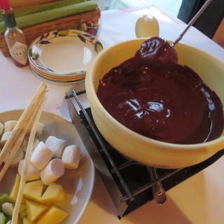 【チョコレートフォンデュ】¥1080(税込)