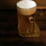 炉ばた 魚千 - ドリンク写真:生ビール