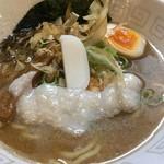 UMAMI SOUP Noodles 虹ソラ - 「鯖豚中華そば」2018年9月26日