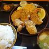 飯の肴 てらや - 料理写真:唐揚げ定食(1000円)