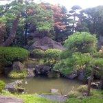 そば処もみじ亭 - 綺麗な日本庭園です。