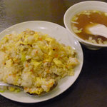 9344339 - チャーハン&チャーハンスープ(定食B)