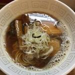 UMAMI SOUP Noodles 虹ソラ - 「淡麗煮干しソバ」2018年9月26日