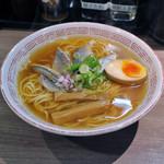 らーめん専門店 拉ノ刻 - 秋刀魚煮干しらーめんwith味玉